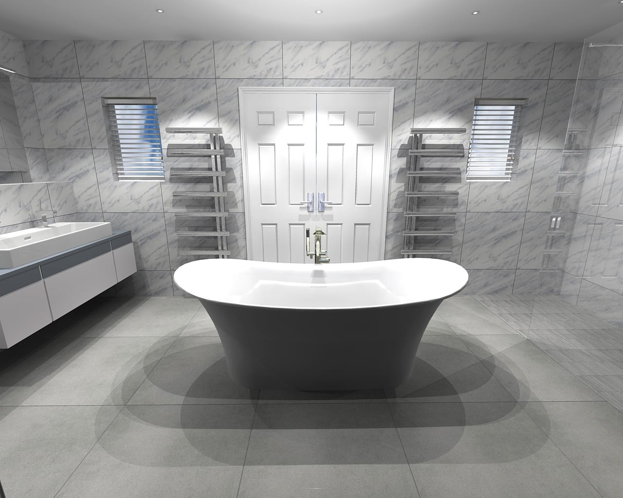 Achieve the hotel experience in your own home bathroom for Bathroom design service