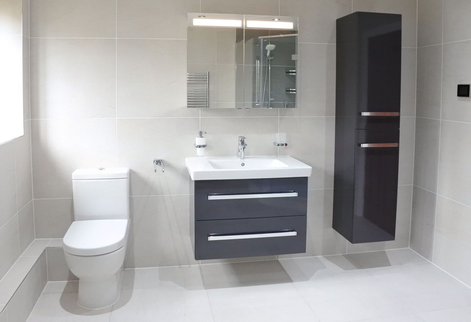 Achieve the hotel experience in your own home bathroom for Bathroom design and supply